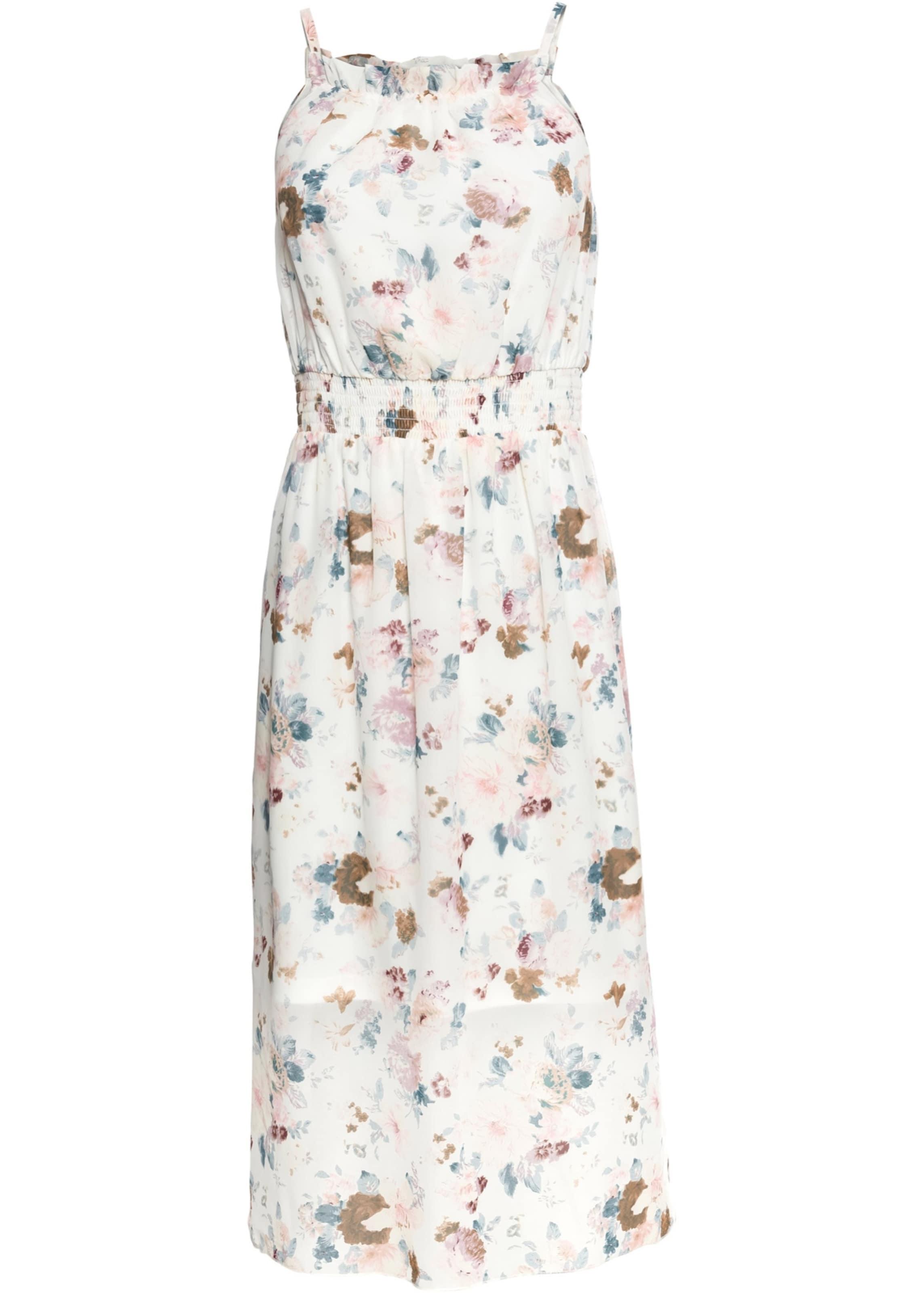 In Kleid Kleid In Bonprix MischfarbenWeiß Bonprix Bonprix MischfarbenWeiß vnmN80w