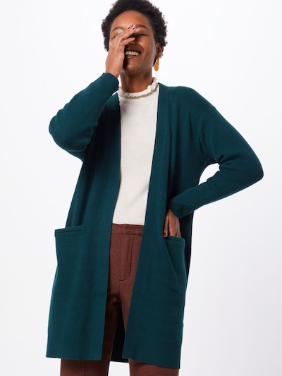 SELECTED FEMME Cardigan in dunkelgrün, Modelansicht