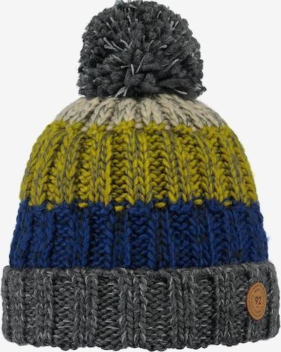 Barts Mütze in navy / gelb / grau, Produktansicht
