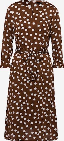 MORE & MORE Kleid in braun / weiß, Produktansicht