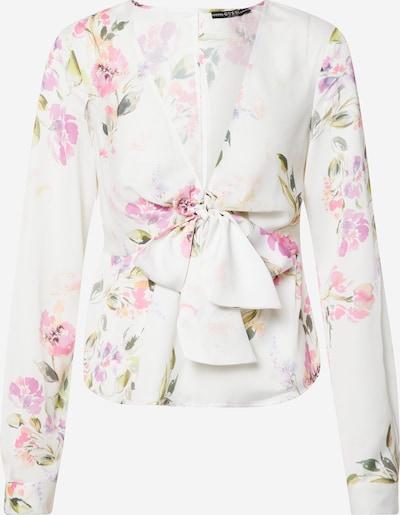 GUESS Blouse 'GWEN' in de kleur Gemengde kleuren / Wit, Productweergave