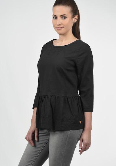 DESIRES Rüschenbluse 'Evita' in schwarz, Produktansicht