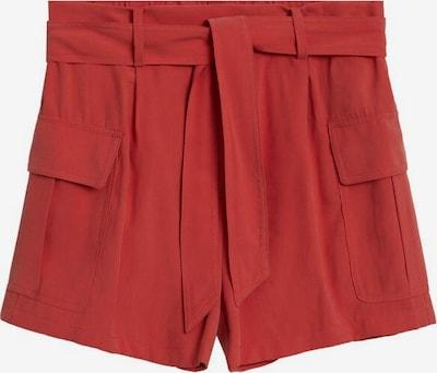 MANGO Shorts in weinrot, Produktansicht