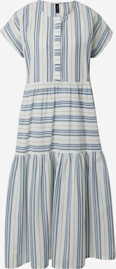 Y.A.S Kleid 'BREEZA' in blue denim / weiß, Produktansicht