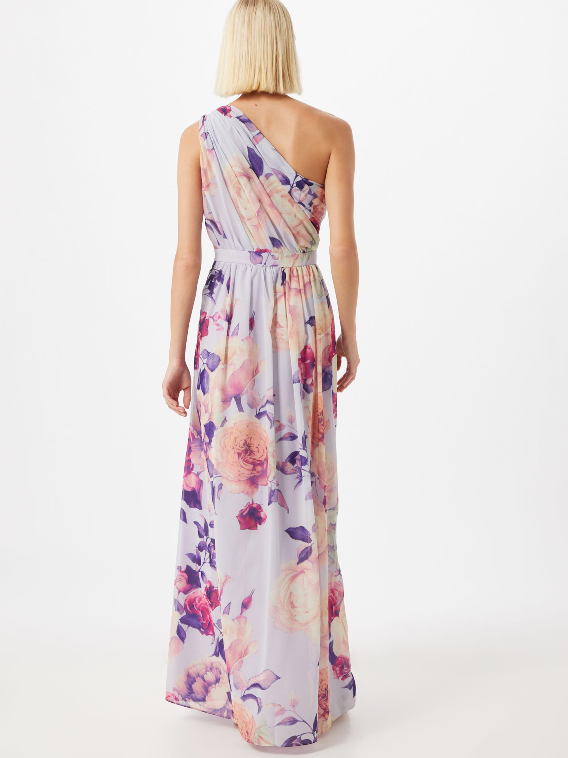 Chi Chi London Estélyi ruhák 'Emika' lila / vegyes színek színben