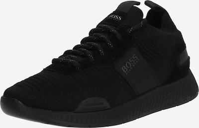 BOSS Baskets basses 'Titanium' en noir, Vue avec produit