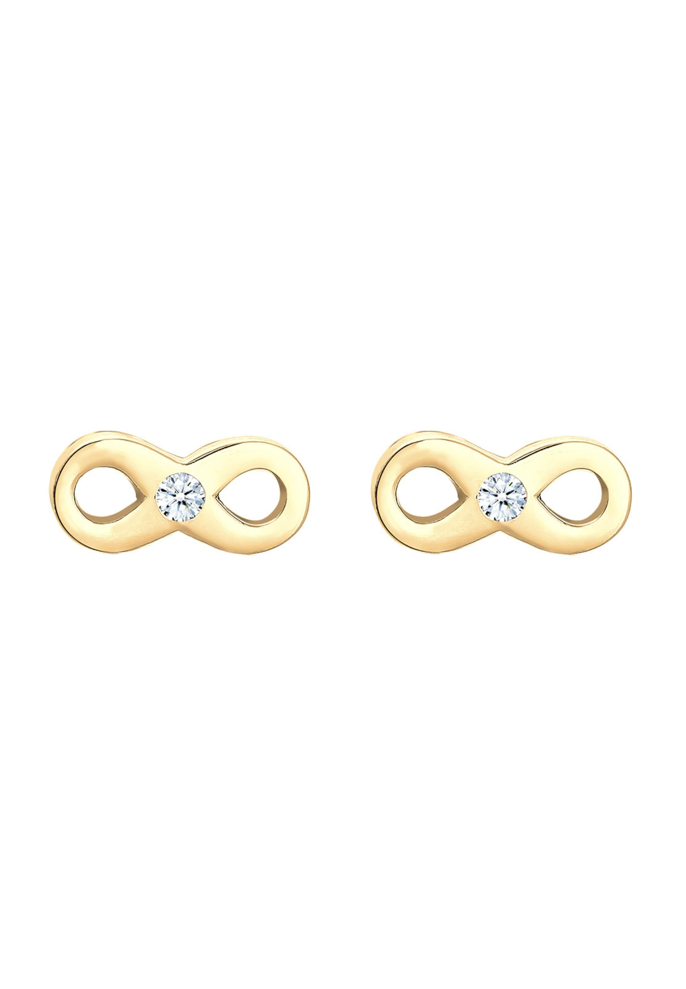 'infinity' Gold In Diamore Ohrringe Diamore 34qjL5AR