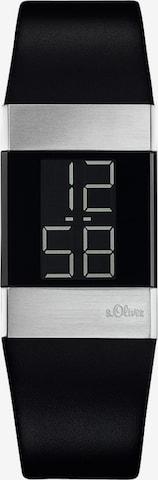 s.Oliver Digital Watch in Black