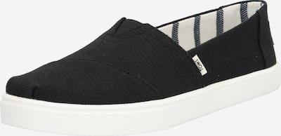 TOMS Slipper 'Alpcp' in schwarz / weiß, Produktansicht