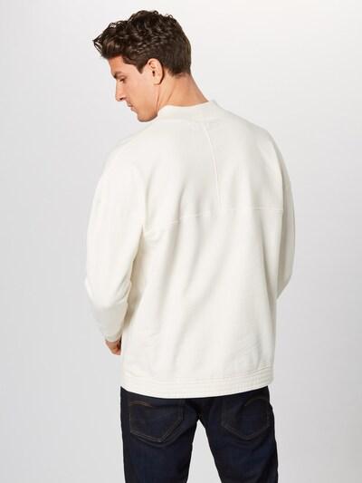 Bluză de molton 'BENJEN' DRYKORN pe offwhite: Privire spate