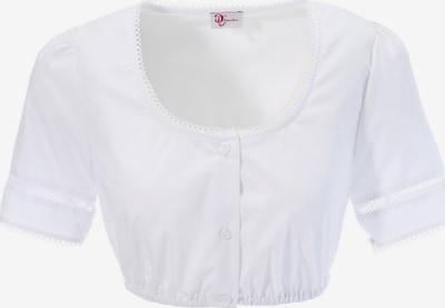 TURI LANDHAUS Dirndlbluse mit Lochstickerei in weiß, Produktansicht
