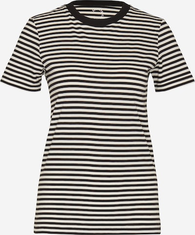 SELECTED FEMME T-Shirt 'SFMy Perfect Tee' in schwarz / weiß, Produktansicht