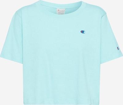Marškinėliai 'Crewneck Croptop' iš Champion Reverse Weave , spalva - turkio spalva, Prekių apžvalga