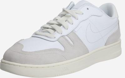 Nike Sportswear Ниски сникърси 'NIKE SQUASH-TYPE' в светлобежово / бяло, Преглед на продукта