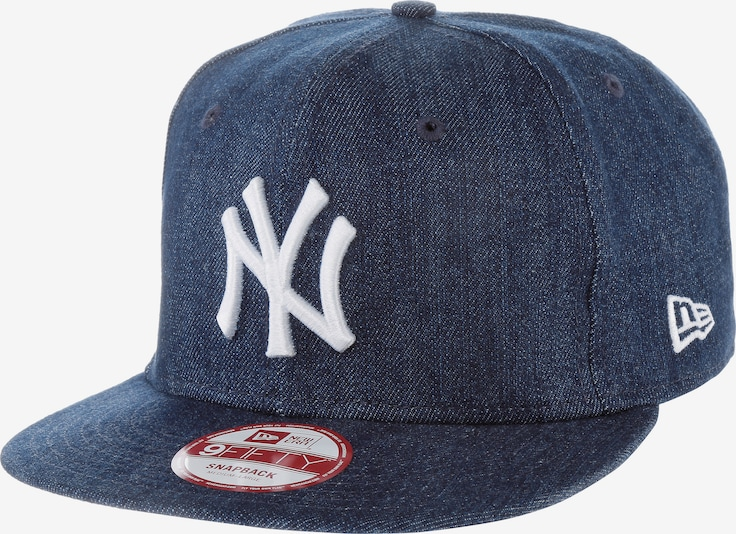 NEW ERA Cap '9FIFTY League Essential New York Yankees' in blue denim, Produktansicht