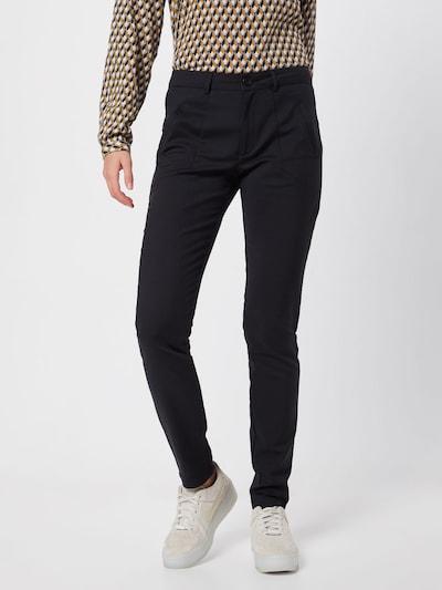 Kaffe Chino hlače 'Vera' | črna barva: Frontalni pogled