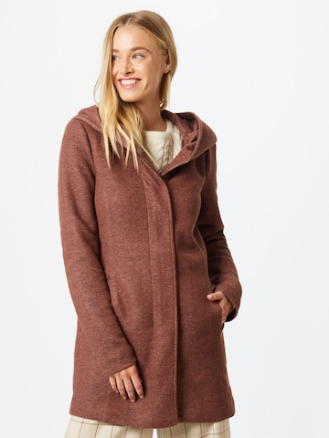 ONLY Between-seasons coat in Brown