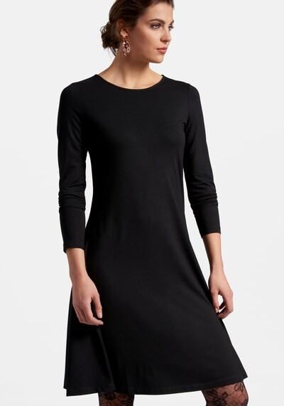 Peter Hahn Kleid in schwarz, Modelansicht