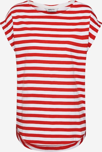 Wemoto Shirt 'BELL' in rot / weiß, Produktansicht