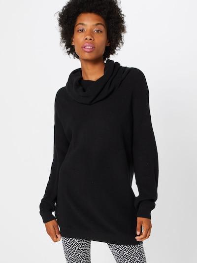Iriedaily Pull-over 'Mock Turtle Knit' en noir, Vue avec modèle
