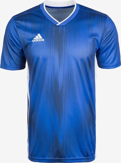 ADIDAS PERFORMANCE Funktionsshirt 'Tiro 19' in blau / schwarz / weiß, Produktansicht