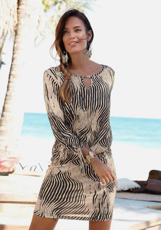 bis zu 80% sparen Online kaufen Sonderkauf LASCANA Kleid ohne Versandkosten kaufen   ABOUT YOU