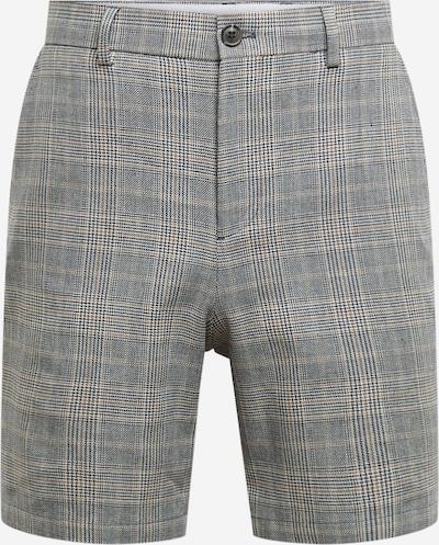 SELECTED HOMME Shorts in hellbeige / dunkelblau / weiß, Produktansicht