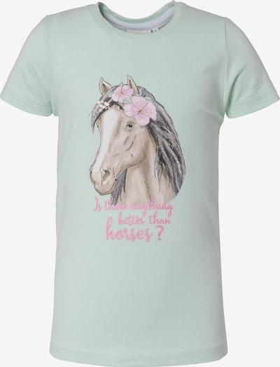 SALT AND PEPPER T-Shirt in hellgrün, Produktansicht