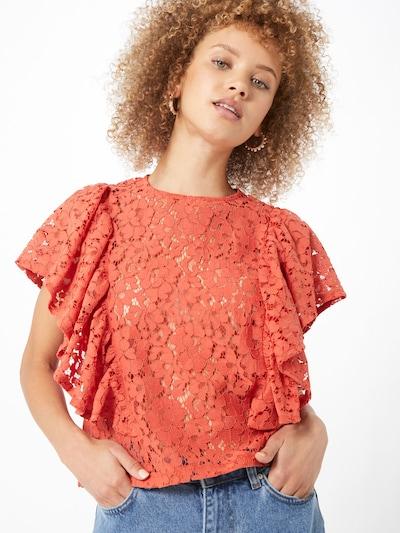 Gina Tricot Bluse 'Ann' in orange, Modelansicht