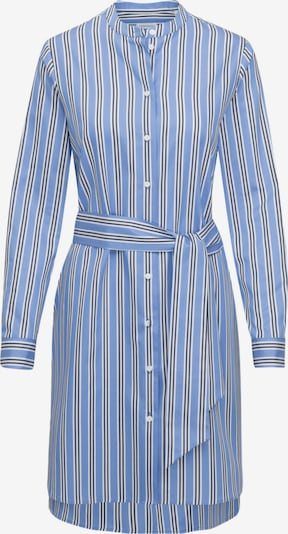 SEIDENSTICKER Kleid 'Schwarze Rose' in blau / schwarz / weiß, Produktansicht
