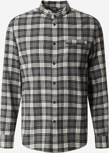 DRYKORN Hemd 'Daryl' in grau / schwarz, Produktansicht