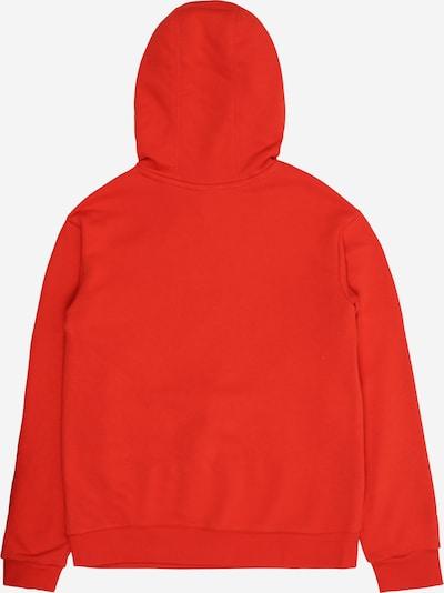 ADIDAS ORIGINALS Sweatshirts  'Trefoil' in hellrot / weiß: Rückansicht