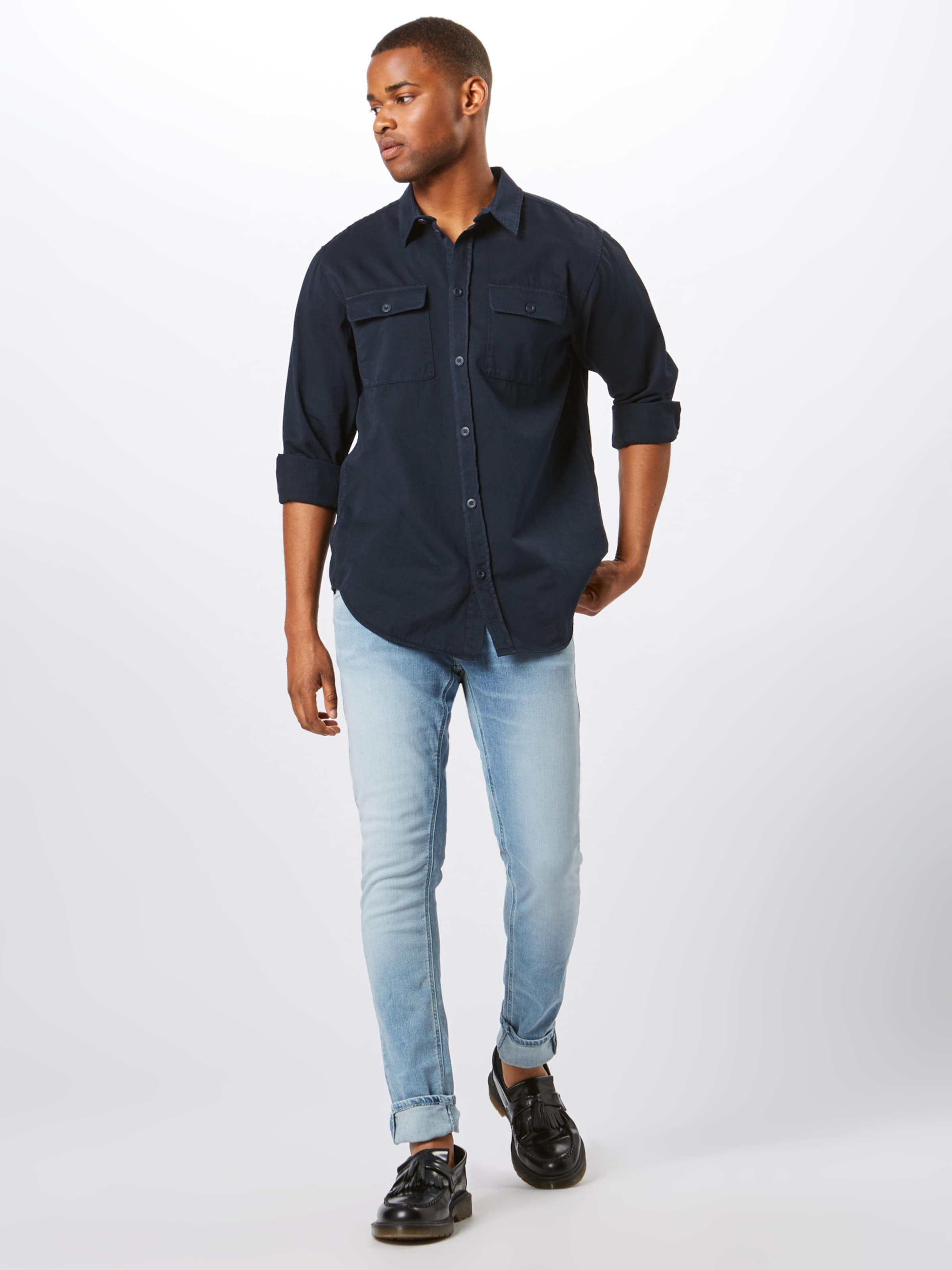 'gabriel' Jeans Navy Nudie In Co Hemd 8vNwmOn0