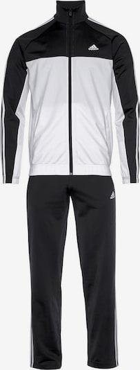 ADIDAS PERFORMANCE Trainingsanzug 'OSR P' in schwarz / weiß, Produktansicht