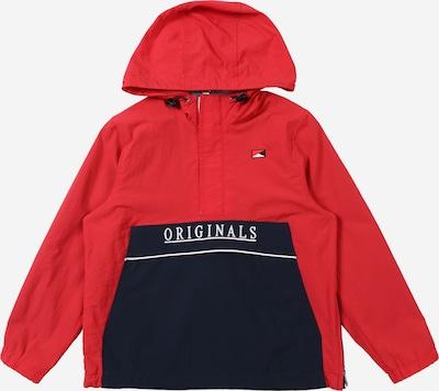 Jack & Jones Junior Jacke in rot / schwarz, Produktansicht
