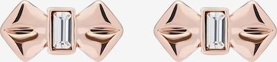 Auskarai 'SOLITAIRE' iš Ted Baker , spalva - rožinio aukso spalva / skaidri spalva, Prekių apžvalga