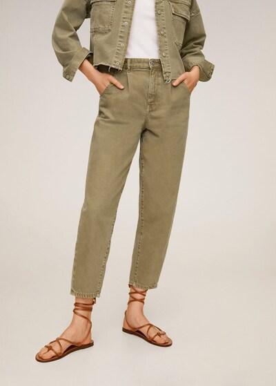 MANGO Jeans 'regina' in khaki, Modelansicht
