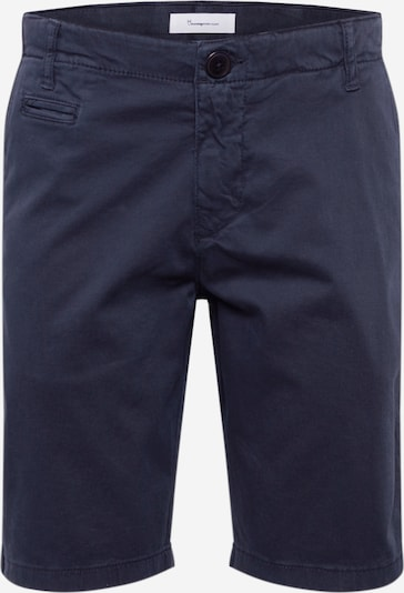 KnowledgeCotton Apparel Chino 'CHUCK' in dunkelblau, Produktansicht
