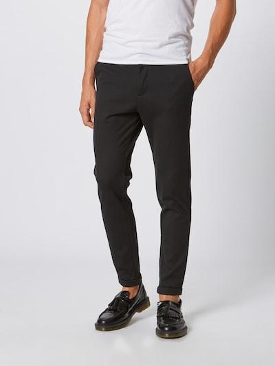 Lindbergh Pantalon 'Superflex' en noir, Vue avec modèle