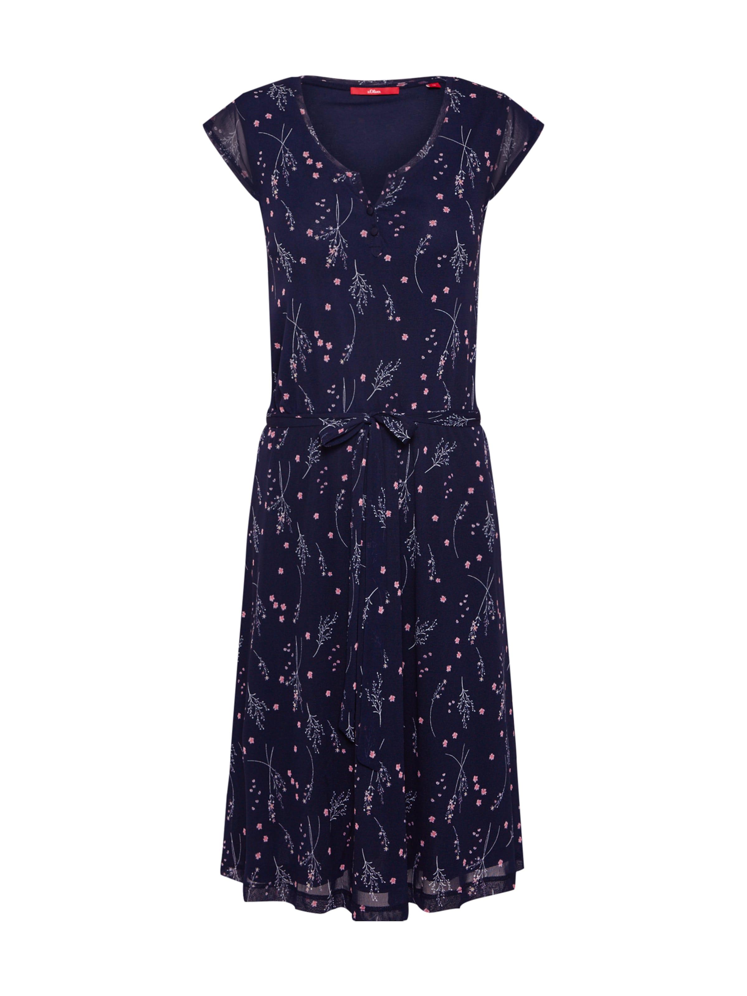 oliver oliver In S S In NavyMischfarben S NavyMischfarben Kleid Kleid XPknwO80