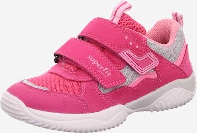 SUPERFIT Sneaker 'STORM' in grau / rosa, Produktansicht
