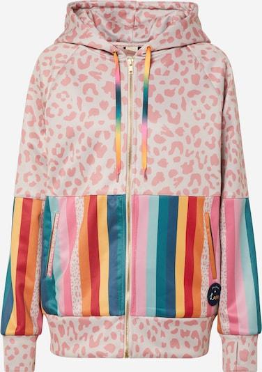 Bluză de molton 'TITO' Femi Stories pe crem / culori mixte / roz, Vizualizare produs