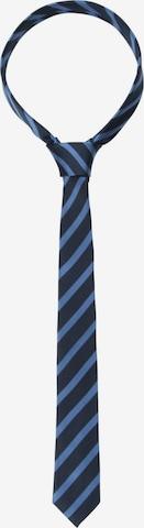 Cravate ' Slim ' SEIDENSTICKER en bleu