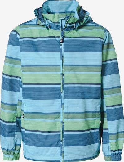 COLOR KIDS Outdoorjacke 'Esben' in himmelblau / hellblau / hellgrün, Produktansicht