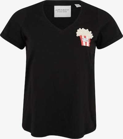 Junarose T-shirt 'POPCORN ROXY' en noir, Vue avec produit
