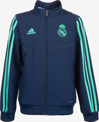 ADIDAS PERFORMANCE Jacke 'Real Madrid' in blau / türkis, Produktansicht