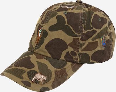 POLO RALPH LAUREN Cepurīte pieejami brūns / zaļš, Preces skats