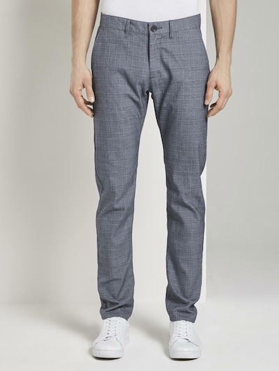 TOM TAILOR Chinohose in grau, Modelansicht