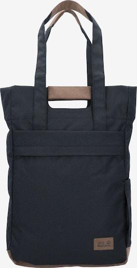 JACK WOLFSKIN Shopper 'Piccadilly' in hellbraun / schwarz, Produktansicht