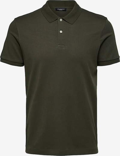 SELECTED HOMME Poloshirt in mokka, Produktansicht